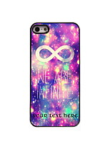 Personalized Gift We Are Infinite Design Aluminum Hard Case for iPhone 4/4S