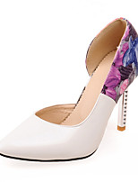 Women's Shoes  Stiletto Heel Heels/Pointed Toe Pumps/Heels Office & Career/Party & Evening/Dress Black/Green/White