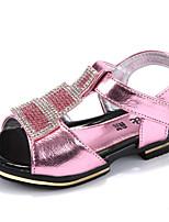 HOBIBEAR Girls' Shoes Casual Open Toe Sandals Blue/Pink C112
