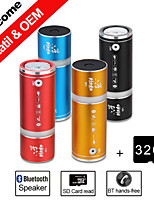 besteye® 32 GB TF-kaart w100 fiets draadloze bluetooth speaker met hands-free fm aux voor iphone6 Samsung tablet pc