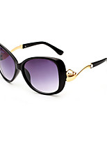 Fashion Women 's 100% UV400/Anti-Radiation Oversized Sunglasses(Assorted Color)