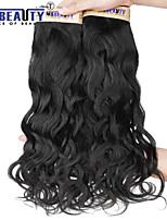 3pcs / lot 12-22inch 6a unverarbeitete peruanisches reines Haar natürliches Welle 100% Echthaar Haarverlängerungen