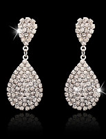 Drop Earrings Rhinestone Dangling Style Pendant Alloy Jewelry For Wedding Party Special Occasion Engagement Office & Career 1 pair