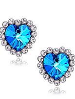 Women's Star Sapphire Earrings