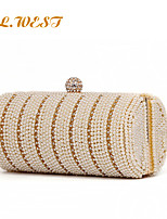 L.WEST® Women's High-end Pearl Inlaid Diamonds Party/Evening Bags