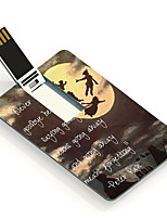 64GB Never Say Goodbye Design Card USB Flash Drive