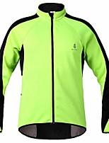 Tops/Chaqueta/Sudadera/Paravientos/Chaquetas de Lana ( Verde ) - de Deportes recreativos/Ciclismo/Downhill/Running -Resistente al