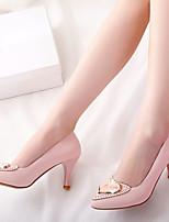 Women's Shoes  Stiletto Heel Heels/Pointed Toe Pumps/Heels Office & Career/Dress Green/Pink/Beige