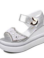 Women's Shoes  Wedge Heel Wedges/Open Toe Sandals Outdoor/Office & Career/Casual Multi-color