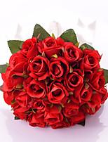 Buquês ( Vermelho , Cetim ) - de Rosas