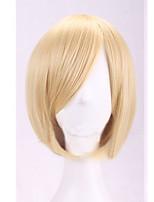 der neue Cartoon Farbe Perücke prince gold beheben Gesicht kurzen geraden Haar Perücken