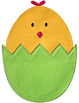 Easter Egg Design Cute Little Chicken Placemat Decoration Table Placemat