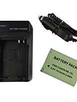 12l batería de la cámara 1910mah + cargador de coche para el canon marca G1X ii n100 mini X