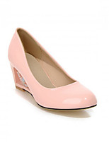 Women's Shoes Synthetic Stiletto Heel Heels/Basic Pump Pumps/Heels Office & Career/Dress/Casual Blue/Pink/Beige