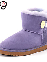 MG Boots Twinface Sheepskin Bailey Button Women's Boots Toddlers Real Fur