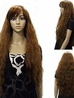European Style Popular Long Hair Wigs Hair Con Curly Synthetic Hair Wigs Cosplay Hair Wigs