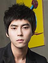 South Korea Fashion Non-Mainstream  Boy Short Hair Straight Bangs Handsome Bulk Short Straight  Hair Wigs
