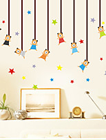 Wall Stickers Wall Decals Style Bear Star Pendant PVC Wall Stickers