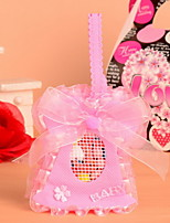 New!!! Pink and Blue Dress Design Cute Baby Shower Candy Favor Bags Set of 12