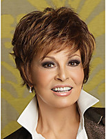 Short Natural Wavy Synthetic Wigs for Women