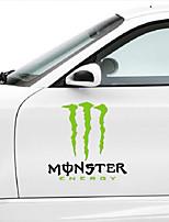 monsterenergy formato autoadesivo dell'automobile della decorazione del corpo di automobile sticker: 35cm