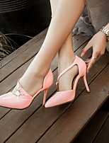 Women's Shoes  Stiletto Heel Pointed Toe Pumps/Heels Office & Career/Dress Green/Pink/White
