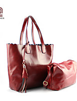 Handcee® Popular Style Fashion Two Pieces PU Tote Bag