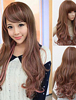 Japan And South Korea Explosion Models of High-Quality High-Temperature Wire Color Long Hair Wig Fashion Girl Necessary
