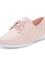 Zapatos de mujer - Tacón Plano - Punta Redonda - Sneakers a la Moda - Exterior - Semicuero - Azul / Rosa / Blanco