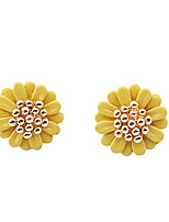 Exquisite Daisy Stud Earrings