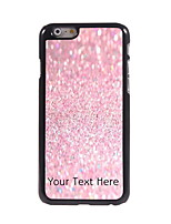 Personalized Gift Pink Sand Design Aluminum Hard Case for iPhone 6