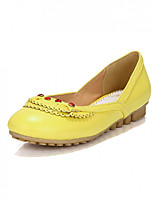 Girls' Shoes Casual Round Toe  Flats Blue/Yellow/Red/Beige