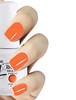 LIBEINE 1pc Soak Off 15 ML UV Gel Nail Polish Color Gel Polish 005# Neon Orange