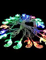 2W 4 meter buitendiameter 20st lamp led modelleren reeks verlichting engel maan lichten, rgb kleur