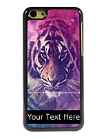 Personalized Gift The Tiger Design Aluminum Hard Case for iPhone 5C