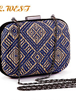 L.WEST® Women's Fashion And Elegant Hand-woven Party/Evening Bag