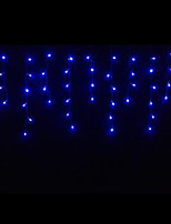 4W 3 Meter Long 100pcs LED String Light with AC110-220V Input PVC Transparent, Blue Color