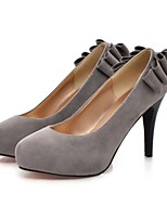 Women's Shoes Stiletto Heel Pointed Toe Pumps/Heels Office & Career/Dress Black/Blue/Green/Red/Gray