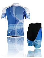 The Blue Jersey Short Suit, Moisture Cycling Wear, Motor Function Material