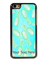 Personalized Gift Pineapple Design Aluminum Hard Case for iPhone 5C