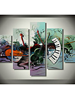 100% Hand-painted Oil Painting Musical Instrument Theme Home Decor Art Wall Modern Painting Artwork Painted  No Frame