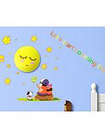Dream Child painting (DIY Wall Sticker Night Light) - counting stars