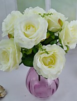 New 4 Colors Silk Rose Bouquet 8.66
