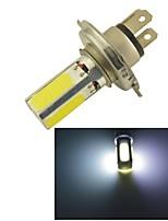 H4 15W COB LED Car DRL Lamp Driving HeadLight Bulbs -White Light(1PCS)