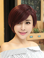 European and American Fashion Girl Necessary High Quality Wine Red Wig