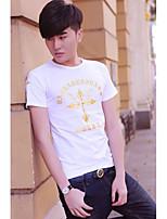 Men's Individual Boy Short Sleeve Leisure T-shirt