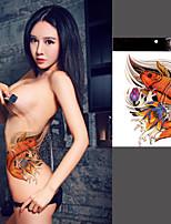 Carp Totems Tattoo Stickers Temporary Tattoos(1 Pc)