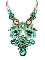 Women's European Style Fashion Wild Ethnic Style Acrylic Necklace