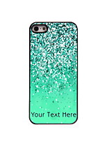 Personalized Gift Green Sand Design Aluminum Hard Case for iPhone 4/4S