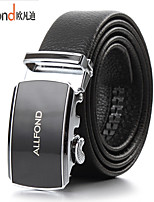 ALLFOND Men Party/Work/Casual Alloy/Leather Calfskin Waist Belt PZD4031-01